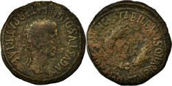 Ancient Coins - Coin, Spain, Tiberius, As, Bilbilis, VF(20-25), Copper