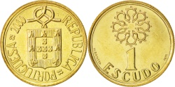 World Coins - Portugal, Escudo, 2000, , Nickel-brass, KM:631