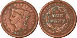 Us Coins - Coin, United States, Braided Hair Cent, Cent, 1842, U.S. Mint, Philadelphia