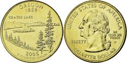Us Coins - Coin, United States, Oregon, Quarter, 2005, U.S. Mint, , Gold plated