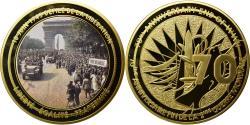 Us Coins - France, Medal, Seconde Guerre Mondiale, Défilé de la Libération du 18 Juin