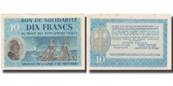 World Coins - France, Bon de Solidarité, 10 Francs, 1941, AU(55-58)