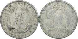 World Coins - Coin, GERMAN-DEMOCRATIC REPUBLIC, 50 Pfennig, 1958, Berlin, , Aluminum