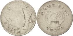 World Coins - NEPAL, 50 Paisa, 1954, KM #740, , Copper-Nickel, 25, 5.86