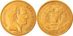 World Coins - Coin, Venezuela, Gr 6.4516, 20 Bolivares, 1880, , Gold, KM:32