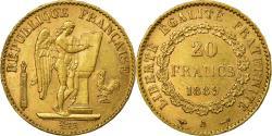 World Coins - Coin, France, Génie, 20 Francs, 1889, Paris, , Gold, KM:825