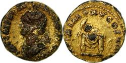 Coin, Domitian, Aureus, 69-97, Roma, contemporary forgery, , Gold plated