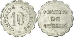 World Coins - Coin, France, Comptoirs Albertins, Albert, 10 Centimes, , Aluminium