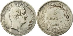 World Coins - Coin, France, Louis-Philippe, 5 Francs,1831,Marseille,,Silver,KM 735.10