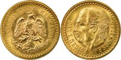 World Coins - Coin, Mexico, 2-1/2 Pesos, 1945, Mexico City, , Gold, KM:463