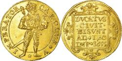 World Coins - Coin, France, Charles Quint, Demi Ducat, Demi Ducat, 1655, Besançon,