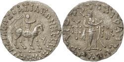 Ancient Coins - Coin, Indo-Scythian Kingdom, Azes I, Tetradrachm, AU(50-53), Silver