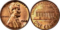 World Coins - Coin, United States, Lincoln Cent, Cent, 1968, U.S. Mint, Philadelphia
