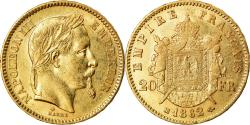 Ancient Coins - Coin, France, Napoleon III, 20 Francs, 1862, Strasbourg, , KM 801.2