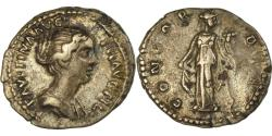 Ancient Coins - Coin, Faustina II, Denarius, 152-154, Roma, , Silver, RIC:500b