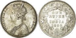 World Coins - Coin, INDIA-BRITISH, Victoria, Rupee, 1892, , Silver, KM:492