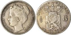 World Coins - Coin, Curacao, Queen Wilhelmina, 1/4 Gulden, 1900, , Silver, KM:35