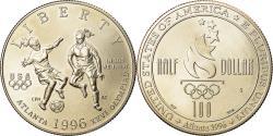 Us Coins - Coin, United States, Half Dollar, 1996, U.S. Mint, San Francisco,