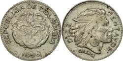 World Coins - Coin, Colombia, 10 Centavos, 1956, Bogota, , Copper-nickel, KM:212.2