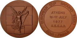 World Coins - Greece, Sports & leisure, Medal, , Bronze, 50, 64.40