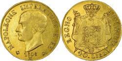 World Coins - Coin, ITALIAN STATES, KINGDOM OF NAPOLEON, Napoleon I, 40 Lire, 1808, Milan
