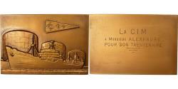 World Coins - France, Medal, La C.I.M, Industrie Portuaire du Havre, Leognany,
