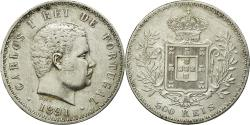 World Coins - Coin, Portugal, Carlos I, 500 Reis, 1891, , Silver, KM:535