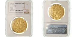 World Coins - Coin, Netherlands, Noble d'or, Campen, NGC, MS63, Gold, graded, 4788509-011