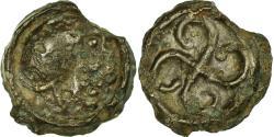 Ancient Coins - Coin, Bituriges, Potin, , Potin, Delestrée:manque.