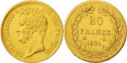 Ancient Coins - Coin, France, Louis-Philippe, 20 Francs, 1831, Paris, EF(40-45), Gold, KM:746.1