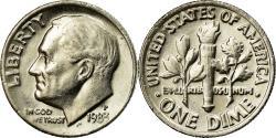 Us Coins - Coin, United States, Roosevelt Dime, Dime, 1983, U.S. Mint, Philadelphia