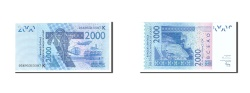 World Coins - West African States, 2000 Francs, 2003, KM:116Aa, 2003, UNC(65-70)
