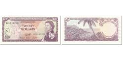 World Coins - Banknote, East Caribbean States, 20 Dollars, 1965, Undated (1965), KM:15j