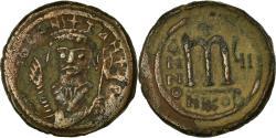 Ancient Coins - Coin, Tiberius II Constantine, Follis, 580-581, Nicomedia, , Copper