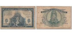 World Coins - Banknote, New Caledonia, 5 Francs, KM:48, VF(20-25)