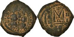 Ancient Coins - Coin, Heraclius, with Heraclius Constantine, Follis, 612-613, Constantinople