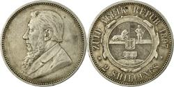 World Coins - Coin, South Africa, Kruger, 2 Shillings, 1897, , Silver, KM:6