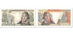 World Coins - France, 10,000 Francs, Bonaparte, 1955, 1955-12-01, EF(40-45), Fayette:51.1