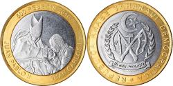 World Coins - Coin, SAHARAWI ARAB DEMOCRATIC REPUBLIC, 500 Pesetas, 2010, Jean Paul II et Juan