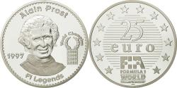 World Coins - France, 25 Euro, Alain Prost, 1997, , Silver