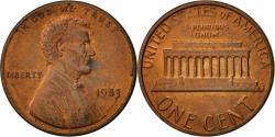 Us Coins - United States, Lincoln Cent, Cent, 1983, U.S. Mint, Philadelphia,