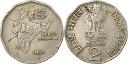 World Coins - Coin, INDIA-REPUBLIC, 2 Rupees, 1997, , Copper-nickel, KM:121.3