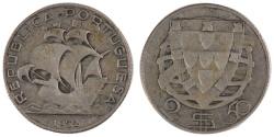 World Coins - PORTUGAL, 2-1/2 Escudos, 1932, KM #580, , Silver, 20.41, 999.99
