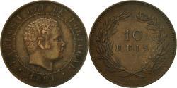 World Coins - Coin, Portugal, Carlos I, 10 Reis, 1891, Portugal Mint, , Bronze