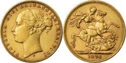 World Coins - Coin, Australia, Victoria, Sovereign, 1874, Sydney, , Gold, KM:7
