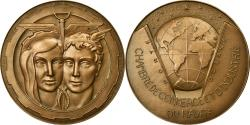 World Coins - France, Medal, Chambre de Commerce et d'Industrie du Havre, 1969, Coeffin