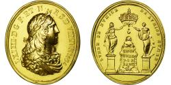 World Coins - France, Medal, Louis XIV, Sacre de Reims, 1654, Restrike, , Gold