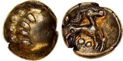 Ancient Coins - Coin, Remi, 1/4 de statère aux segments de cercle, cheval à droite,