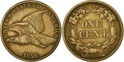 Us Coins - Coin, United States, Flying Eagle Cent, Cent, 1858, U.S. Mint, Philadelphia