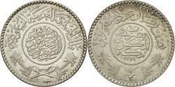 World Coins - Coin, Saudi Arabia, UNITED KINGDOMS, 1/2 Riyal, 1935, , Silver, KM:17
